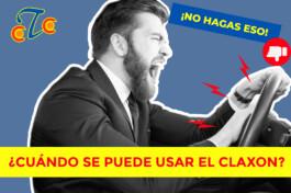Cual es el correcto uso del claxon - Centro Tecnico de Conductores Burgos